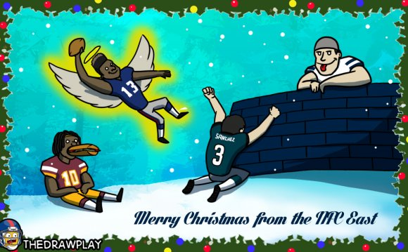 Football Christmas cards