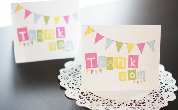 Make Thank you Cards with photos Free