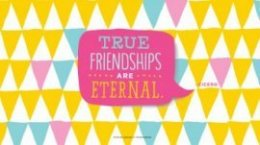 Friendship Quotes: True friendships are eternal. —Cicero #Hallmark #HallmarkIdeas