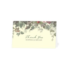 Garland Thank You Cards