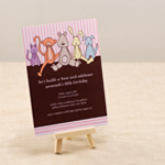Gender Neutral Birthday Invitations