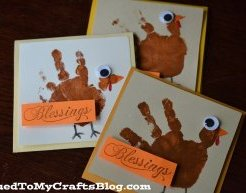 Gobble Gobble - Thanksgiving Cards {Kid's Craft}