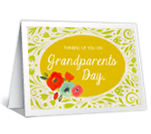 Grandparents Day Wishes greeting card