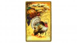 Hallmark Thanksgiving cards through the years: 1910s #Hallmark #HallmarkIdeas