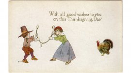 Hallmark Thanksgiving cards through the years: 1920s #Hallmark #HallmarkIdeas