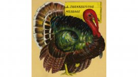 Hallmark Thanksgiving cards through the years: 1940s #Hallmark #HallmarkIdeas