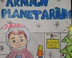 Hannah Freeburn (age 11) from St Patrick's College,  Banbridge