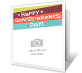 Happy Grandparents Day Add-a-Photo greeting card