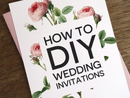 how to diy your own wedding invitations