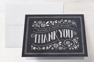 Matching Thank You Notes to Invitations