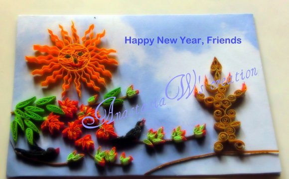 Handmade New Year Cards