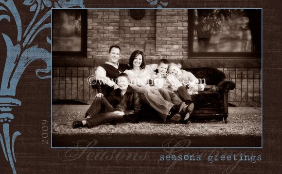 Free Holiday Photo Card Templates