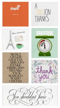 Online thank you notes from Paperless Post: Never too late to send!