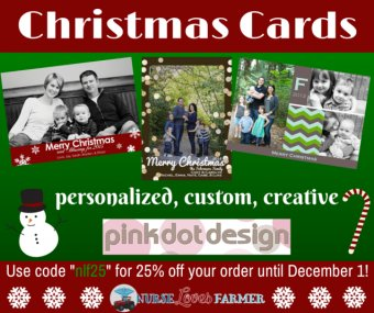 Pink Dot Design Christmas Cards