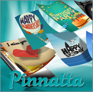 Pinnatta is a smartphone app through which users can send an receive a variety of unique, personalized greeting cards and interactive messages.