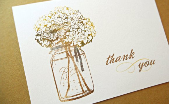 Thank you Cards inside