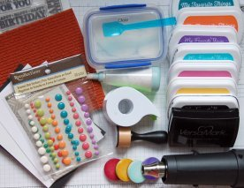 Rainbow - Collection of supplies