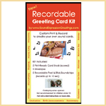 Recordable Sound Module Card Kit