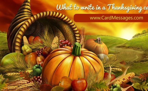 Thanksgiving Card Greetings