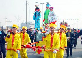 Shehuo on Lantern Festival