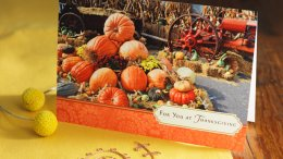 Thanksgiving Wishes: What to Write in a Thanksgiving Card