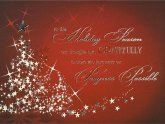 Business Christmas cards Greetings