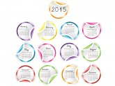 Greeting Cards New Year 2015