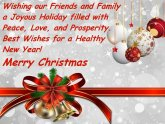 Greeting Cards of Christmas and New Year