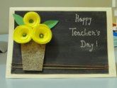 Greeting cards on Teacher Day