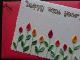 Handmade New Year Greeting Cards