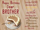 Happy Birthday Greeting cards for Brothers