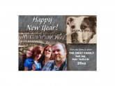 Happy New Year Photo Greeting Cards