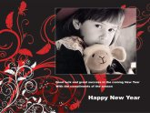 Make New Year Cards online