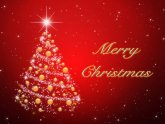 Merry Christmas and New Year Greeting Cards