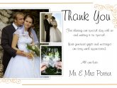 Thank Cards for Wedding
