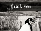 Wedding Thanks Cards design