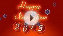 Animated New Year 2013 Greeting Ecard ! Video Greetings !