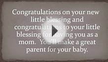 Baby Congratulations Messages: What to Write in a Card