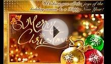 Best Merry Christmas Video Greeting Card Wish- 2014 Song
