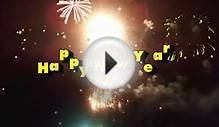 Best Wishes on Happy New Year 2016 Video Greeting E-card