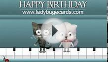 Birthday Free Funny Animated Greeting Cats Dancing Ecard