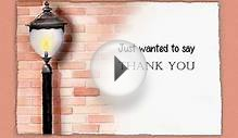 Business Animated Thank You Card from Castle Ecards