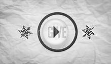 CHRISTMAS 2014 GREETING CARD - AFTER EFFECTS TEMPLATE