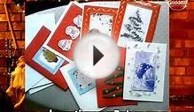 Christmas Cards Review - Handmade Christmas Cards Design Ideas