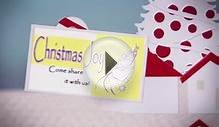 Christmas Invitation Cards--templates and ready to print PDFs