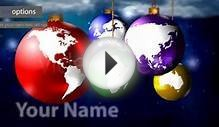 Christmas World Greeting card - After Effects Template