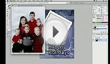 Creating a family Christmas or holiday card - Photoshop