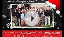 Customized Christmas Video eCard for Business Email