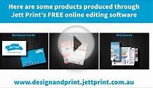 Design your own Business Cards, Flyers, Brochures + More!