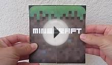 DIY Minecraft Flip Card as Birthday and Holiday Cards